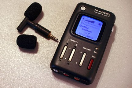 T-Microphone with MicroTrack II