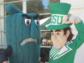 Fighting Okra vs. Statesman Mascots